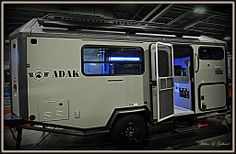 ADAK overlanding trailer at the 2014 Colorado RV Adventure Travel Show.