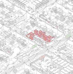 AXO_URB_victortsu: breuckland, variaties op het leven in de stad, case : Brooklyn
