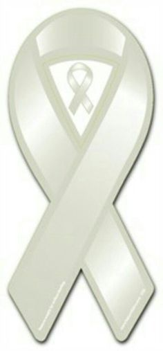 light gray pearl ribbon