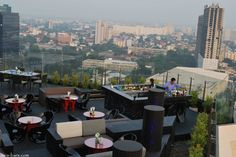 Blue Sky- new rooftop bar & restaurant at Sofitel Centara Grand Hotel Bangkok