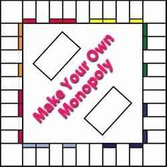 Make Your Own Monopoly Board Game