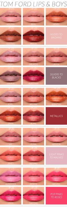 Round-up: Tom Ford Lips & Boys Overview & Thoughts
