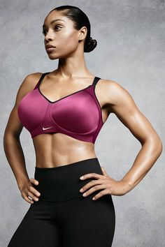 Get high support without sacrificing comfort. Try the new Nike Pro Hero Bra now available in 20 sizes, ranging from cups C to E.