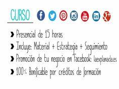 Aquí tenéis una breve info sobre el curso de redes sociales impartido por Pyme Up. www.pymeup.es