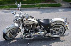 Photo of 1997 Harley Davidson Softail Heritage Springer Classic FLSTS Motorbike.