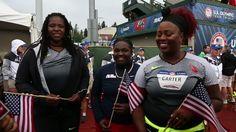 USATF.TV - Videos - Michelle Carter, Raven Saunders & Felisha ...