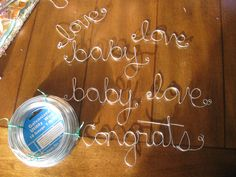 wire gift tags