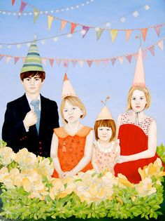 The Lines are Having a Party - by emily c mcphie  >  There are so many paintings by Emily that could be shared here...