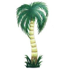 NOVICA Collectible Mexican Steel Wall Art (1.115 NOK) ❤ liked on Polyvore featuring home, home decor, wall art, green, wall accents, wall decor, mexican palm tree, steel wall art, outside wall art and outdoor paintings