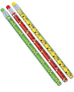 Angry Birds Pencil Favours