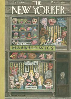 Witold Gordon : Cover art for The New Yorker 1136 - 23 November 1946