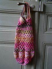 Ravelry: Crochet String Bag pattern by Penny Peberdy