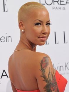 Hollywood actress and socialite. Amber Rose ...Hmmm!! Yummy...