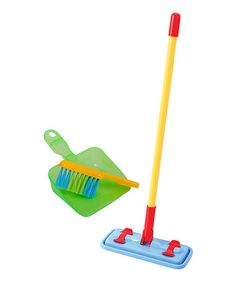 Look what I found on #zulily! My Cleaning Set Housekeeping Toy #zulilyfinds