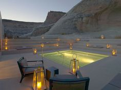 To know more about Canyon Point, Utah 'Amangiri Luxury Resort Hotel', visit Sumally, a social network that gathers together all the wanted things in the world! Featuring over 2 other Canyon Point, Utah items too! Amangiri Resort Utah, Amangiri Hotel, Hotels In Utah, Hotels And Resorts, Utah Resorts, Luxury Hotels, Unique Hotels, Luxury Spa, Luxury Travel