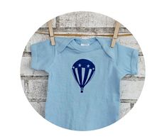Hot Air Balloon Baby Onepiece Aircraft by CausticThreads on Etsy