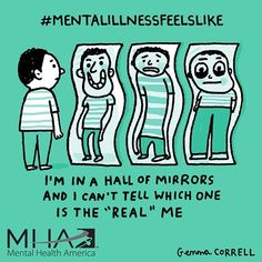 #mentalillnessfeelslike