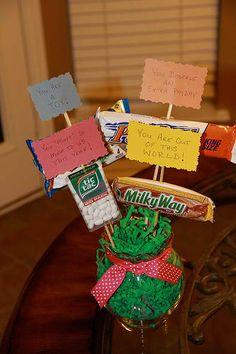 Teacher Appreciation Candy Bouquet