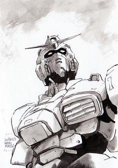 Gundam-something by NORIMATSUKeiichi.deviantart.com on @DeviantArt
