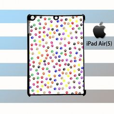 Paws Full Colors iPad Air 5 Case Cover