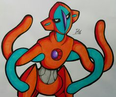 fancy but agitated deoxys