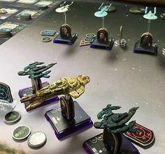 Star Trek Attack Wing Dominion Fleet (c) Dustin Gross