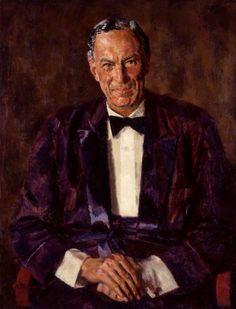 Portrait of Robert Gilbert Vansittart, Baron Vansittart, 1942 by Alfred Reginald Thomson (British 1894–1979)