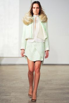 Juan Carlos Obando Fall 2012 Ready-to-Wear Fashion Show