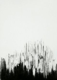 Erin Hegg | The Light is Winning, 2013 | Charcoal