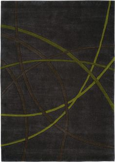 Crossing Lines 5027-67 Gray Rug from the Pop Art II collection at Modern Area Rugs