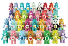 Care Bear toy figurines