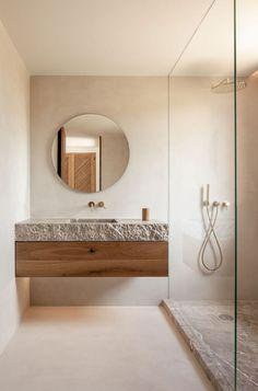 badkamertrends 2020 natuurlijke materialen kleuren