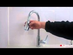 Trueshopping Mono Kitchen Sink Mixer Tap with Pull Out Pre Rinser