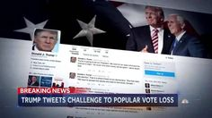 With No Evidence, Trump Claims 'Millions' Voted Illegally, Politics, 2016 Election, breaking News, Trump Tower, Donald Trump News, Donald trump Claim 2016