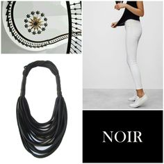 #recycleyourtshirt #handmade #fabric #necklace #neckwear #collageart