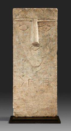 South Arabian limestone stelae. Late 1st millennium B.C.E.