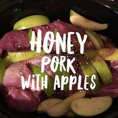 21 Day Fix Approved ~ Crockpot Pork with Apples | A Little Bit of Cheer | Bloglovin'