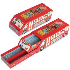 School Bus Pencil Box | DotComGiftShop  soooo cute!