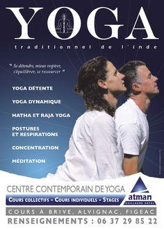 Atman Centre de Yoga campagne 2013