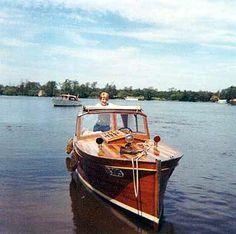 British wooden boat