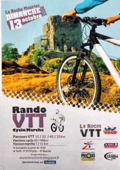 Affiche Rando-VTT Cyclo-marche 2013