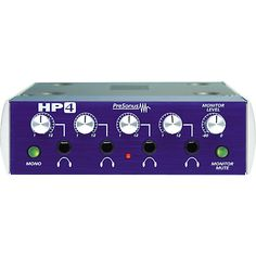 PreSonus HP4 Discrete 4-Channel Headphone Amp