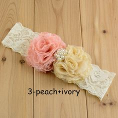 Baby Girl Headbands Luxury Girl Lace Flower Baby Head bands With Rhinestone For VestidosBaby Girl Hair Accessories