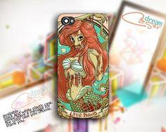 Princes Little Mermaid - design for iPhone 5 Black case