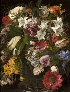 Francesco Hayez (Italian, 1791-1882) | Flowers, 1834