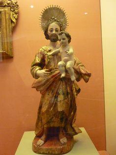 San José. Pieza de la colección Franz Mayer, México D.F.