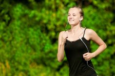 Running To The Sound Of Music - Competitor Running