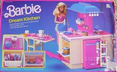 La Dream Kitchen di #Barbie Chi non ha avuto una cucina bionda? #FGD