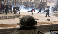 Clashes erupt in Kashmir after 2 militants…: Hundreds of protesters clashed with police Thursday in Indian-administered Kashmir after two…