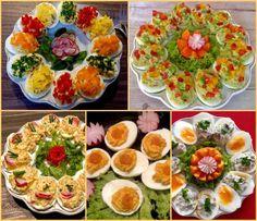 Koreczki, przekąski i przystawki. Imprezowe hity! - Blog z apetytem Bruschetta, Cobb Salad, Catering, Food And Drink, Ethnic Recipes, Blog, Haha, Blue Prints, Polish